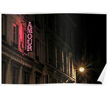 Amour sur la rue de Navarin Poster