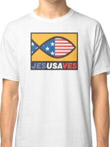 "Christian ""JesUSAves"" Classic T-Shirt"