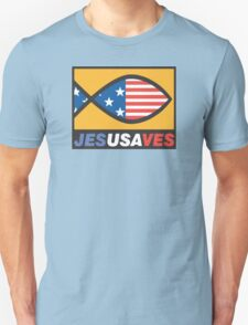 "Christian ""JesUSAves"" Unisex T-Shirt"