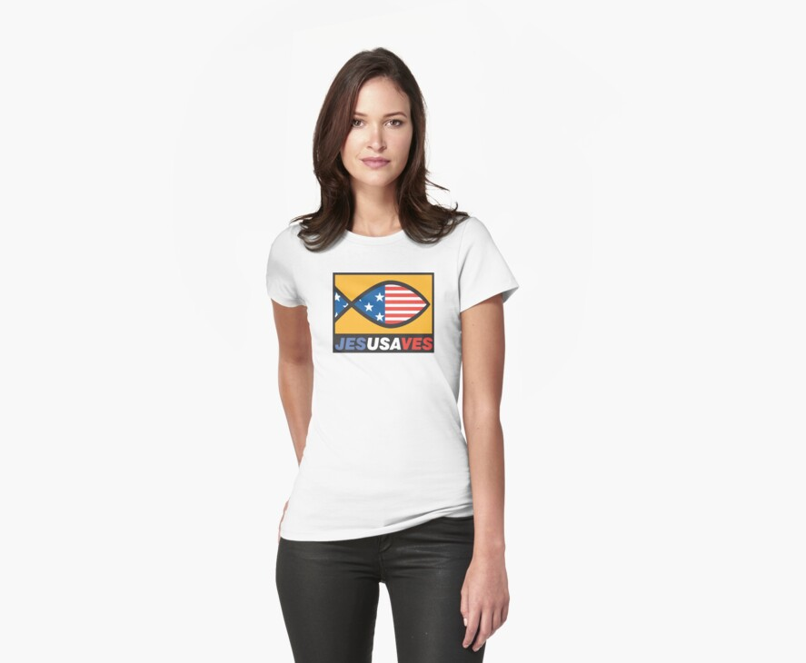 """Christian """"JesUSAves"""" by T-ShirtsGifts"""