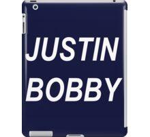 Justin Bobby iPad Case/Skin