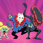 Monster Mash - Modern Monsters (Production Cel) by Sebastian Sindermann