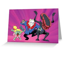 Monster Mash - Modern Monsters (Production Cel) Greeting Card