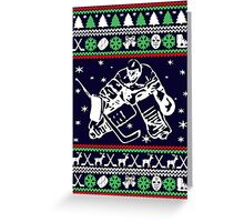 HOCKEY CHRISTMAS Greeting Card