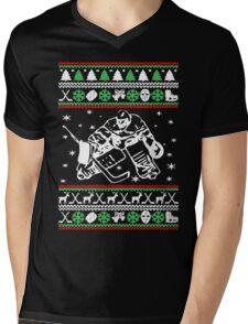 HOCKEY CHRISTMAS Mens V-Neck T-Shirt