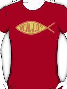 "Christian ""WWJD?"" T-Shirt"