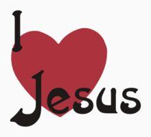 "Christian ""I Love Jesus"" Kids Tee"