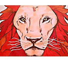 Fierce Lion Photographic Print