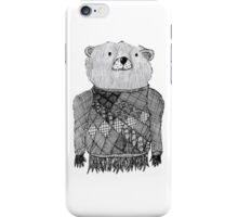 Bear Illustration  iPhone Case/Skin
