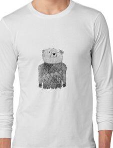 Bear Illustration  Long Sleeve T-Shirt