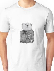 Bear Illustration  Unisex T-Shirt
