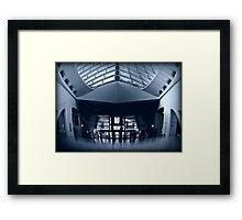 Inside MAM © Framed Print