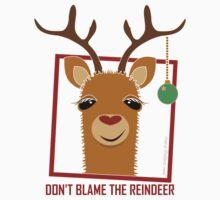 DON'T BLAME THE RAINDEER Kids Tee