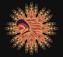 Flaming Eagle Dark by T-ShirtsGifts