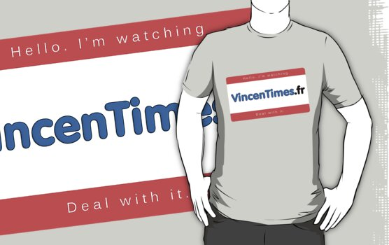 Hello, I'm watching VincenTimes.fr by VincenTimes