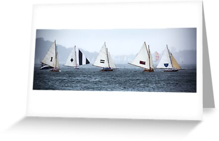 Historic Skiffs - Australian Championships, Sydney 2013 by Beth  Morley