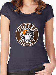 Coffee Bucks Women's Fitted Scoop T-Shirt