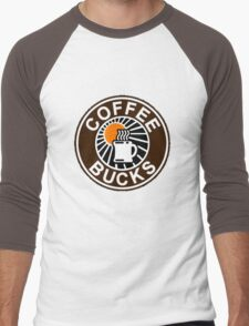 Coffee Bucks Men's Baseball ¾ T-Shirt