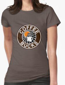 Coffee Bucks Womens Fitted T-Shirt