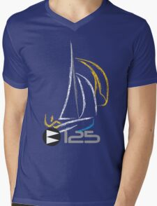 125 Sailing Dinghy Mens V-Neck T-Shirt