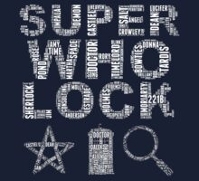 SUPERWHOLOCK [WHITE] T-Shirt