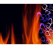 Heart Burn Photographic Print