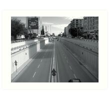 The way in Adana. Art Print