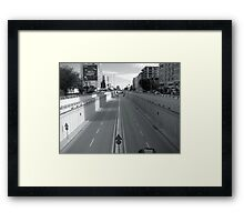 The way in Adana. Framed Print