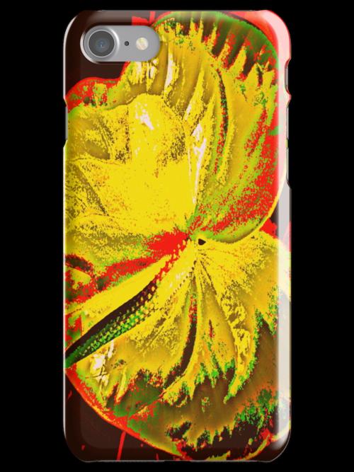Leaf iPhone Case by Fara