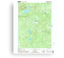 USGS TOPO Map New Hampshire NH Tuftonboro 329830 2000 24000 Canvas Print