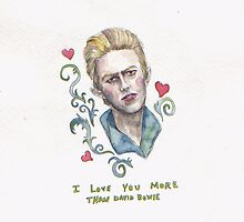David Bowie Valentine  by brettisagirl