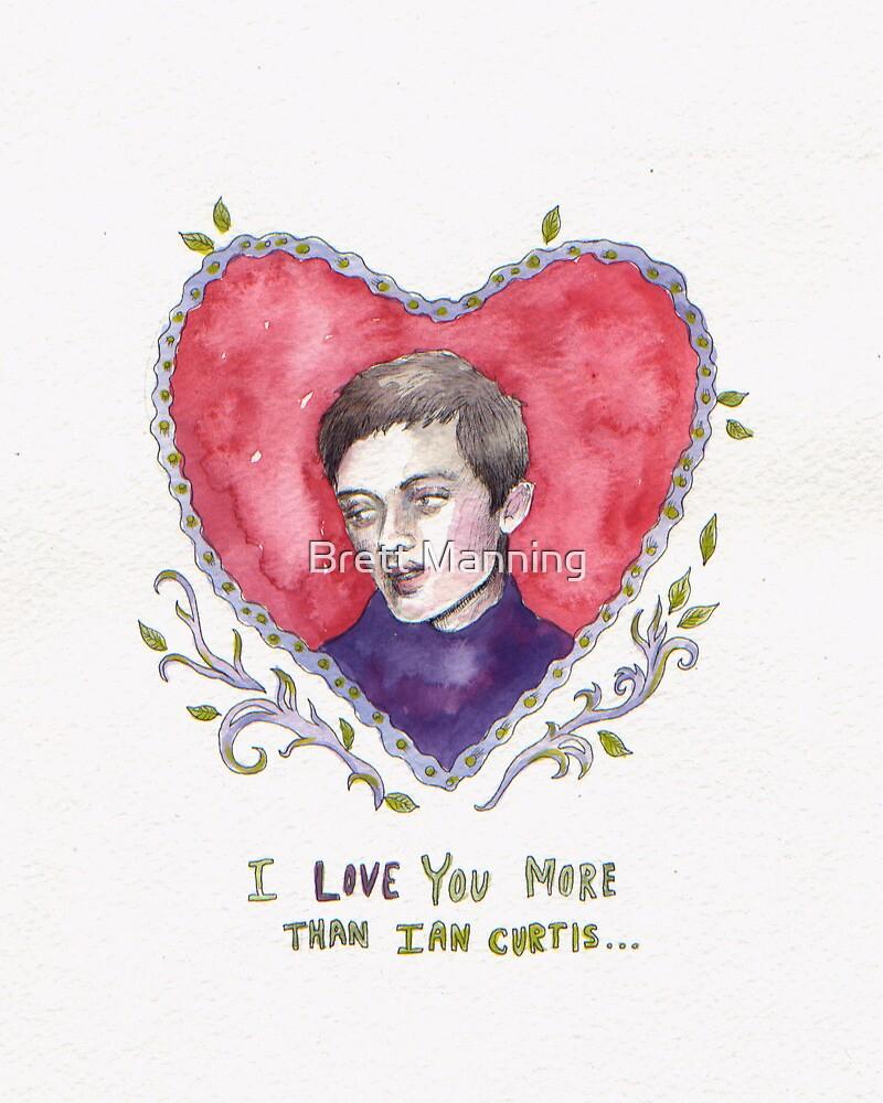 Ian Curtis Valentine  by Brett Manning