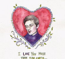 Ian Curtis Valentine  by brettisagirl