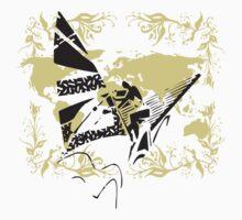 Windsurfing Urban Grunge by T-ShirtsGifts