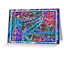 ABSTRACTAMONIUM Greeting Card