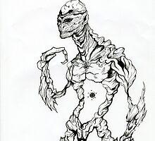 creature CREEPER by delonte089
