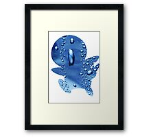 Piplup used Rain Dance Framed Print