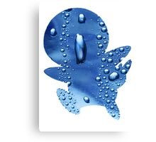 Piplup used Rain Dance Canvas Print