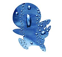 Piplup used Rain Dance Photographic Print
