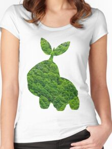 Turtwig used Synthesis Women's Fitted Scoop T-Shirt