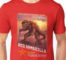 RED ARMADILLO! Unisex T-Shirt