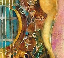 Gibson Hummingbird Guitar by Dorrie  Rifkin