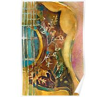 Gibson Hummingbird Guitar Poster