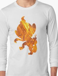 Chimchar used Flame Wheel Long Sleeve T-Shirt
