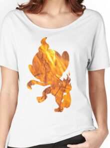 Chimchar used Flame Wheel Women's Relaxed Fit T-Shirt