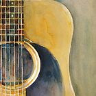 Martin Acoustic Guitar 2012 by Dorrie  Rifkin