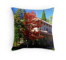 """Bowers Mansion"" Throw Pillow"