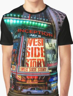 Fisheye on Broadway Graphic T-Shirt