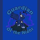 Luna: Guardian of the Night iPad Case by Geek-Spirations