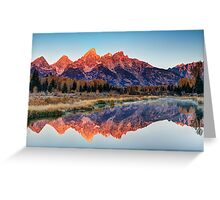 Brilliant Cathedral - Grand Teton National Park Greeting Card
